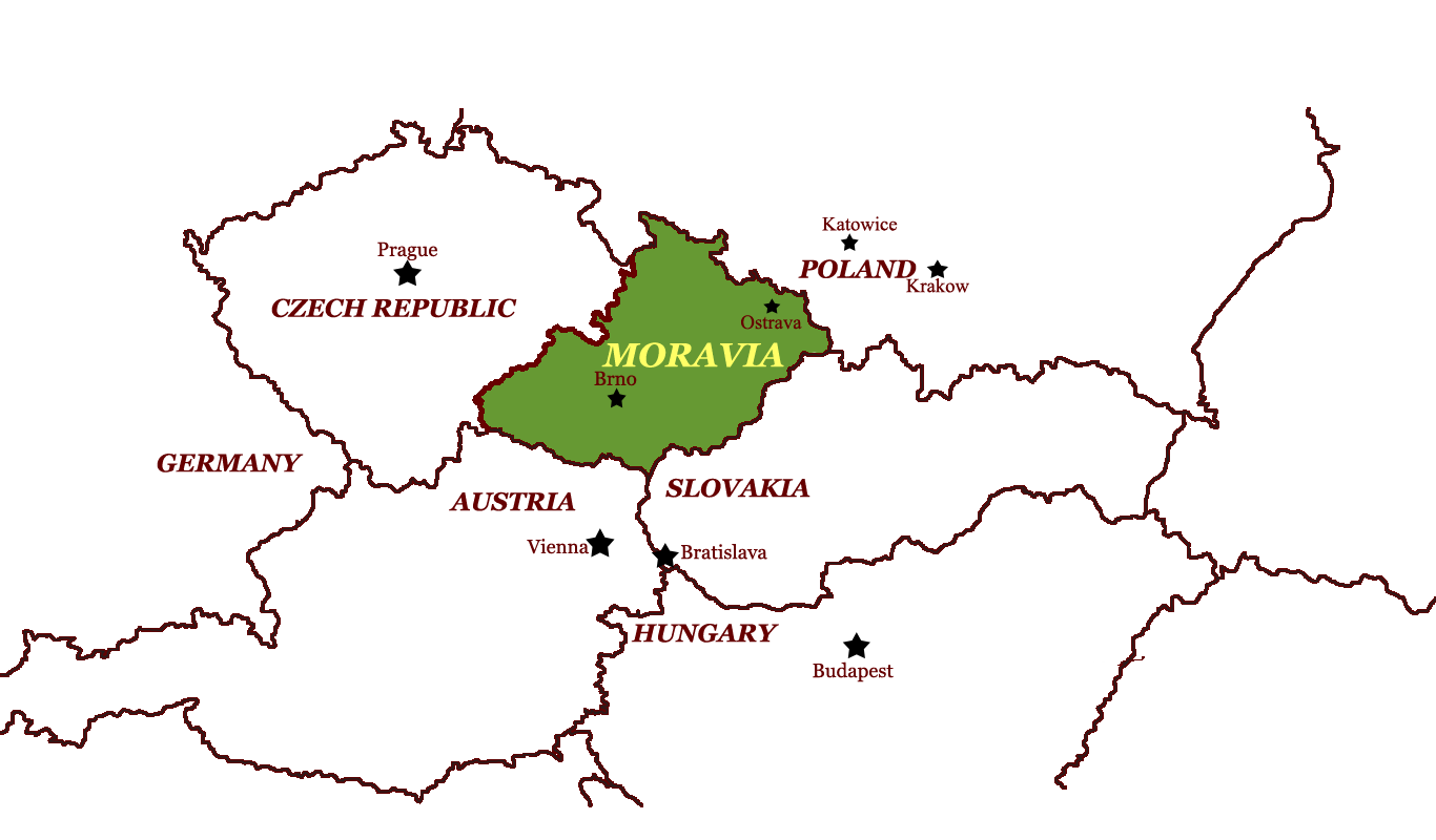 Image result for Moravia europe